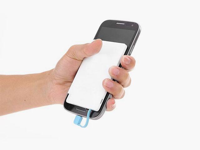 名入れ印刷ができるノベルティ用モバイルバッテリー