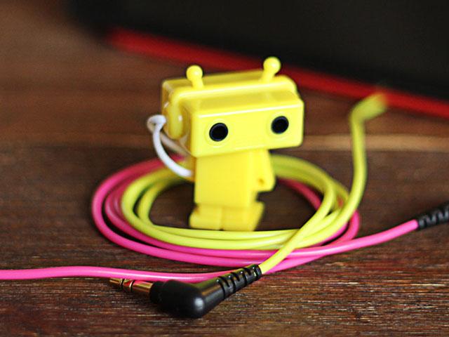 ノベルティやギフトに使えるキーホルダーロボット