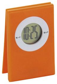 クリッパーデジタルクロックオレンジ