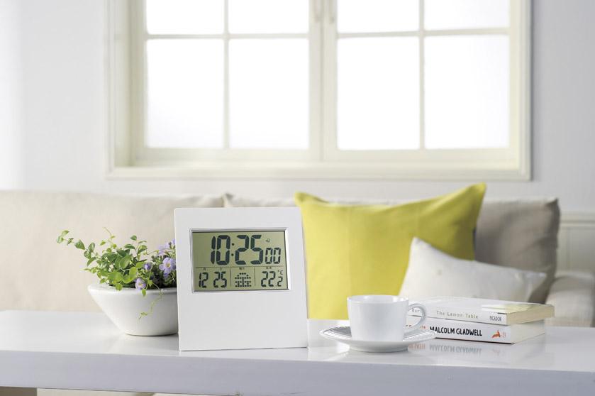 ノベルティ用電波時計置き型